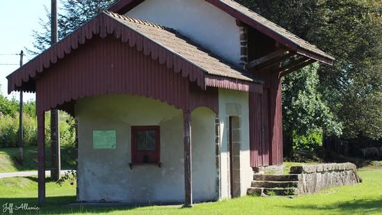 Photo fiche road-trip N° 10_364_1 - De châteaux en petites gares, de lacs en barrages - La petite gare de Lafage-sur-Sombre - Lafage-sur-Sombre - 19320