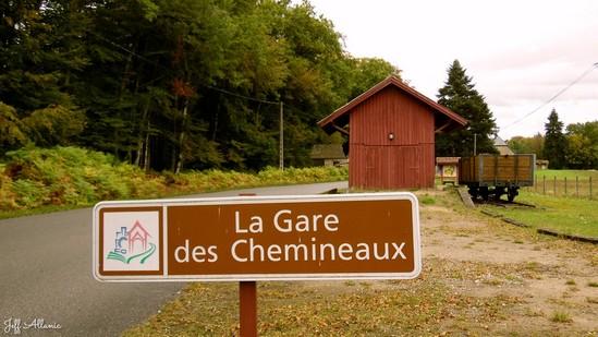Photo fiche road-trip N° 10_68_1 - De châteaux en petites gares, de lacs en barrages - La petite gare des Chemineaux - Saint-Pardoux-la-Croisille - 19320