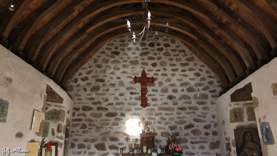 Photo fiche road-trip N° 10_8041_1 - Les portes du Périgord blanc - La petite chapelle de Nirige - Espagnac - 19150