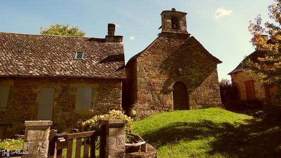 Photo fiche road-trip N° 11_1025_1 - Les gorges sauvages de la Dordogne - Le hameau de L'Herbeil - L'Herbeil - 19550