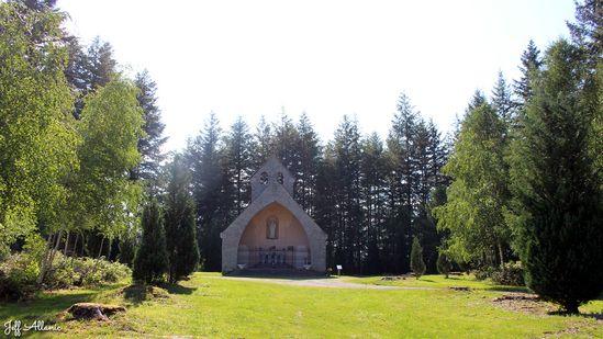 Photo fiche road-trip N° 11_281_1 - Les gorges sauvages de la Dordogne - La petite chapelle de Penacorn - Neuvic - 19160