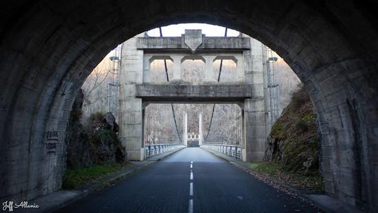 Photo fiche road-trip N° 11_510_1 - Les gorges sauvages de la Dordogne - Les ponts de Saint-Trojet - Neuvic - 19160