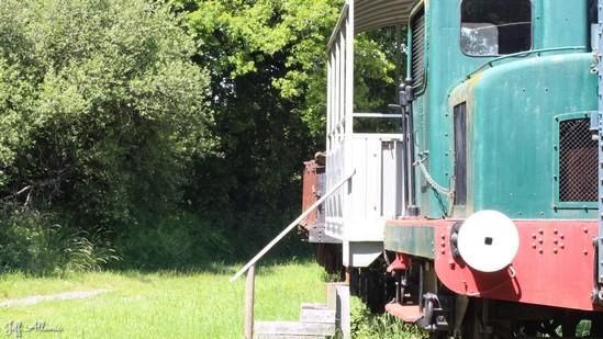 Photo fiche road-trip N° 11_87_1 - Les gorges sauvages de la Dordogne - Cimetière du train de la Corrèze - Soursac - 19550