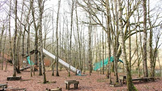 Photo fiche road-trip N° 14_1075_1 - La Corrèze plein Est c'est l'Eden - Parc d'accrobranche de Mestes - Mestes - 19200