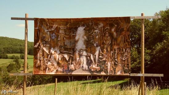 Photo fiche road-trip N° 15_391_1 - Les portes du Périgord blanc - La ferme du peintre de Coudert - Pérols-sur-Vézère - 19170