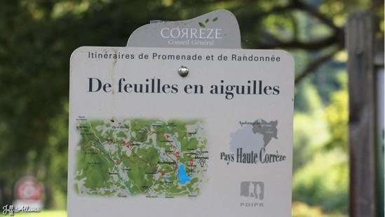 Photo fiche road-trip N° 15_409_1 - Les portes du Périgord blanc - Le lac de Séchemailles - Ambrugeat - 19250