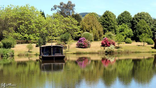 Photo fiche road-trip N° 16_190_1 - Les portes du Périgord blanc - L'arboretum de Chamberet - Chamberet - 19370
