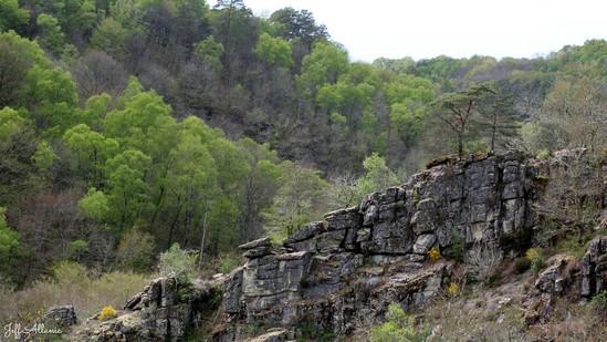 Photo fiche road-trip N° 16_204_1 - Entre Vézère sauvage et Corrèze inattendue - Le rocher aux Folles - Affieux - 19260
