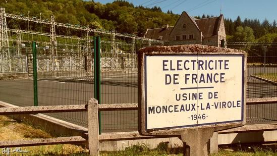 Photo fiche road-trip N° 16_219_1 - Les portes du Périgord blanc - L'usine hydroélectrique de la Virolle - Lestards - 19170