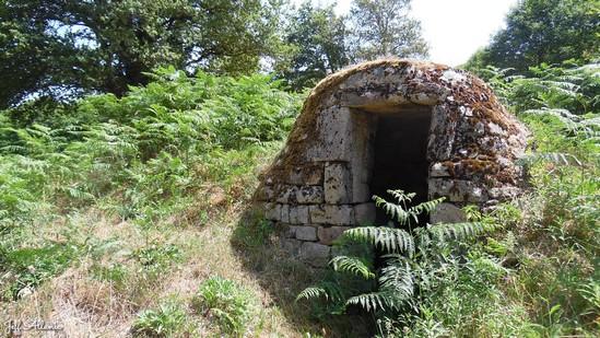 Photo fiche road-trip N° 16_442_1 - Entre Vézère sauvage et Corrèze inattendue - Abri de pierres sèches - Treignac - 19260
