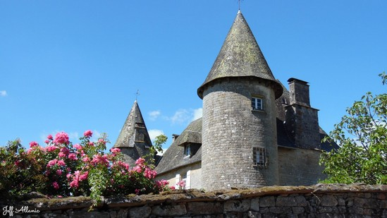 Photo fiche road-trip N° 16_452_1 - Entre Vézère sauvage et Corrèze inattendue - Le petit village de Affieux - Affieux - 19260