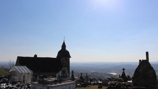 Photo fiche road-trip N° 19_2056_1 - Les portes du Périgord blanc - La petite chapelle de Chatroulle - Allassac - 19240