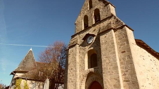 Photo fiche road-trip N° 19_2057_1 - Les portes du Périgord blanc - Le village d'Estivaux - Estivaux - 19410