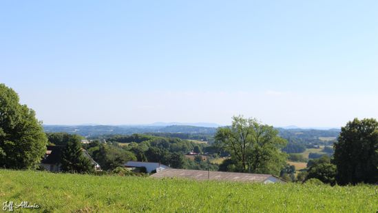 Photo fiche road-trip N° 19_2064_1 - Les portes du Périgord blanc - Panorama depuis Sainte-Féréole - Sainte-Féréole - 19270