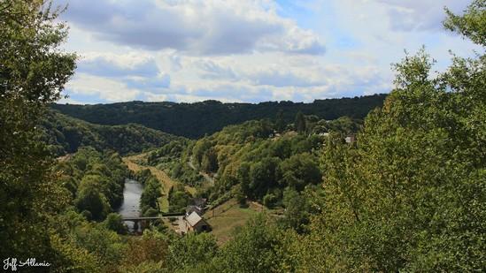 Photo fiche road-trip N° 19_343_1 - Les portes du Périgord blanc - Le belvédère de Comborn - Estivaux - 19410