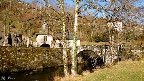 Photo fiche road-trip N° 3_127_1 - Les portes du Périgord blanc - La chapelle Notre-Dame du Pont du Salut - Corrèze - 19800