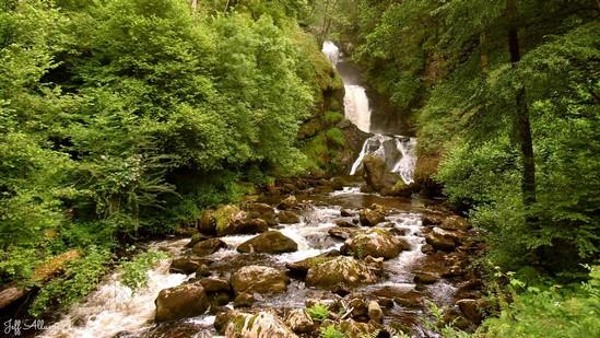 Photo fiche road-trip N° 3_182_1 - Les portes du Périgord blanc - Village de Gimel-les-Cascades - Gimel-les-Cascades - 19800