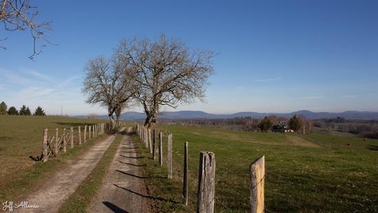 Photo mini fiche promenade N° __461_1 - Corrèze en plein coeur - Panorama sur les monts des Monédières - Seilhac - 19700