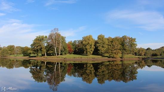 Photo fiche road-trip N° 3_467_1 - Les portes du Périgord blanc - Lac de Bournazel - Seilhac - 19700
