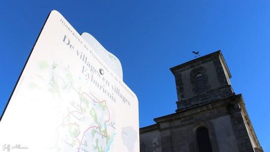 Photo fiche road-trip N° 4_418_1 - La perle du Limousin - Le village d'Eyburie - Eyburie - 19140
