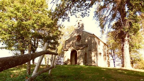 Photo fiche road-trip N° 4_456_1 - Les portes du Périgord blanc - La chapelle Saint-Damien - Chamboulive - 19450