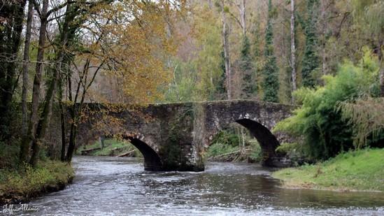 Photo fiche road-trip N° 5_7200_1 - Les portes du Périgord blanc - Le pont de Lasveyras - Payzac - 24270