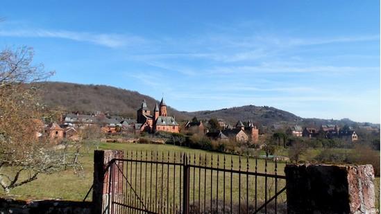 Photo fiche road-trip N° 7_24_1 - La vallée de la Dordogne  - Le village de Collonges-la-rouge - Collonges-la-Rouge - 19500