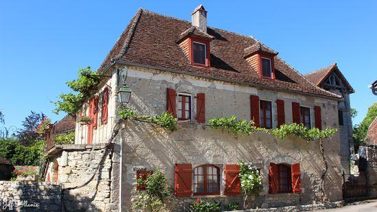 Photo fiche road-trip N° 7_27_1 - La vallée de la Dordogne  - Le village de Branceilles - Branceilles - 19500