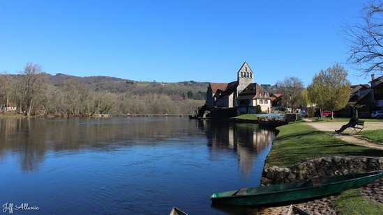 Photo fiche road-trip N° 7_32_1 - La vallée de la Dordogne  - Beaulieu-sur-Dordogne - Beaulieu-sur-Dordogne - 19120