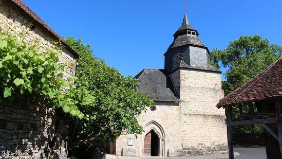 Photo fiche road-trip N° 7_727_1 - La vallée de la Dordogne  - La Chapelle-aux-Saints - La Chapelle-aux-Saints - 19120