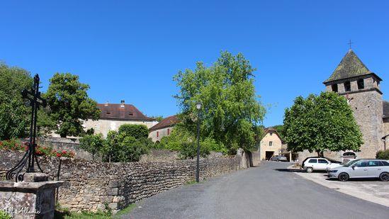 Photo fiche road-trip N° 7_8045_1 - La vallée de la Dordogne  - Le hameau de Végennes - Végennes - 19120