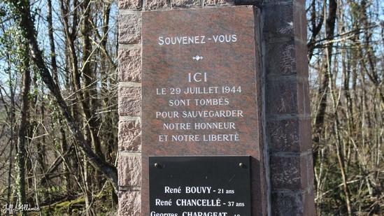 Photo fiche road-trip N° 8_8020_1 - Sources et inspirations de Coco Chanel - Monument des résistants - Beynat - 19190