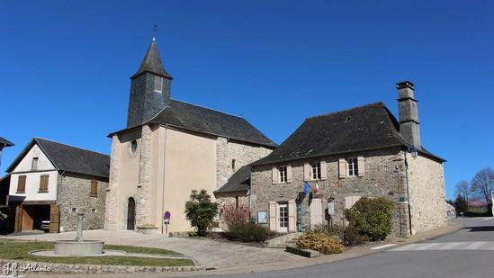 Photo fiche road-trip N° 8_8021_1 - Sources et inspirations de Coco Chanel - Le village du Chastang - Le Chastang - 19190