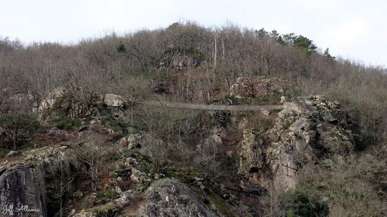 Photo fiche road-trip N° 9_8003_1 - La Xaintrie médiévale - La Via Ferrata de Longeval - Saint-Martial-Entraygues - 19400