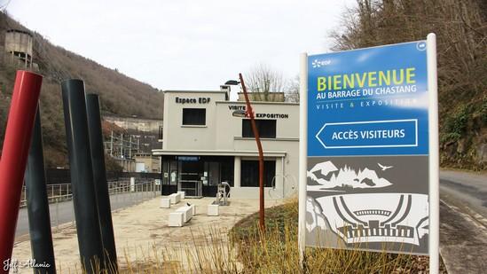 Photo fiche road-trip N° 9_8005_1 - La Xaintrie médiévale - Visite du barrage du Chastang - Servières-le-Château - 19320