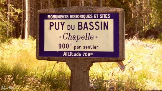 Photo fiche road-trip N° 9_91_1 - La Xaintrie médiévale - La table d'orientation du Puy du Bassin - Auriac - 19220